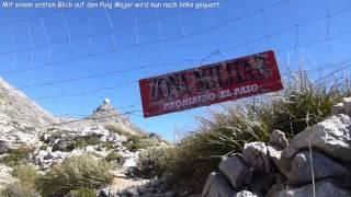 Wandern Mallorca - Überschreitung des Penyal des Migdia bei Fornalutx
