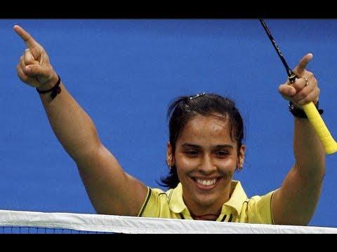 Saina nehwal won most exciting match in ibl 2013 hyderabad
