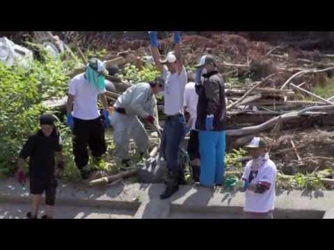 Burmese Volunteers Helping Those In Tohoku, Japan