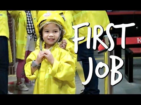 Her First Job! - January 21, 2017 -  ItsJudysLife Vlogs
