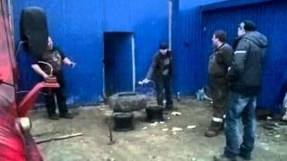 Взрыв балона колесо домиком!(, 2015-05-01T06:23:21.000Z)