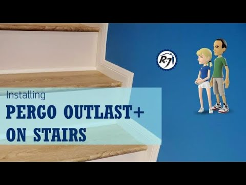 Poor Man's DIY: Installing Pergo Outlast+ Flooring on Stairs