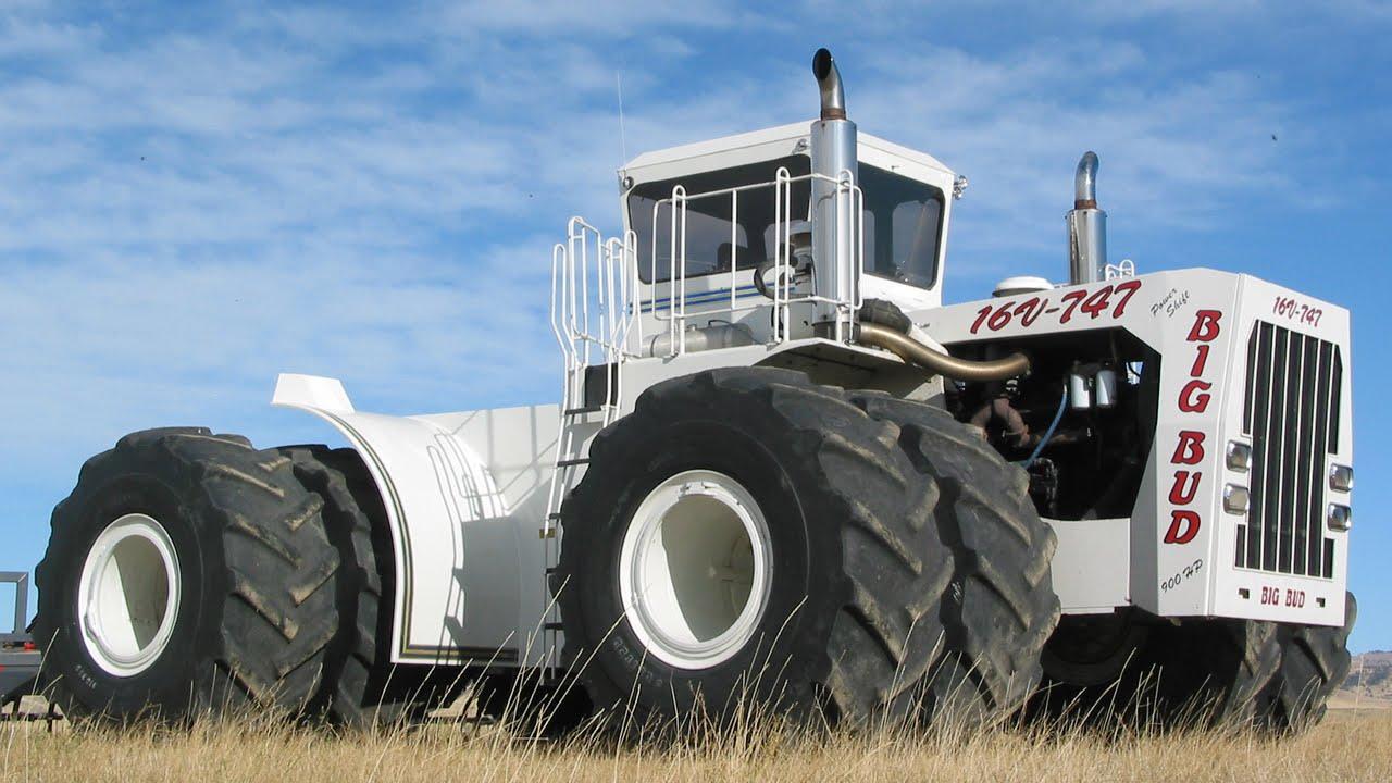 Big Bud 747 >> Самый большой трактор в мире - YouTube