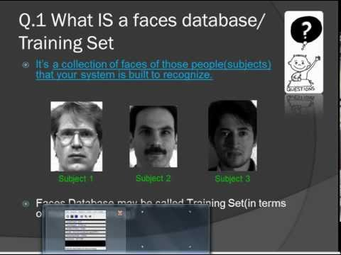 Design & Create a Faces Database For Face Recognition (1_2)
