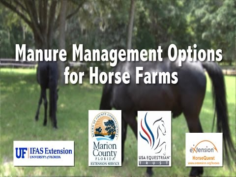 Manure Management Options For Horse Farms