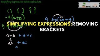 Simplifying Expressions: Removing brackets