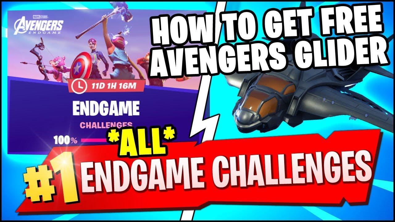 All Endgame Challenges Fortnite | Fortnite Aimbot Season 4