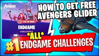 DEAL DAMAGE BY THROWING THOR'S STORMBREAKER AXE & ALL ENDGAME CHALLENGES REWARDS (Fortnite)