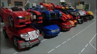 Hello Carbot 14 Car Robot Toys Transformation 헬로카봇 14 자동차 로봇 장난감 변신