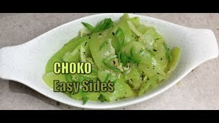 How To Cook Choko Chayote Easy Sides Video Recipe Cheekyricho