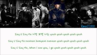 VIXX - Say U Say Me [Hangul/Romanization/English] Color & Picture Coded HD MP3