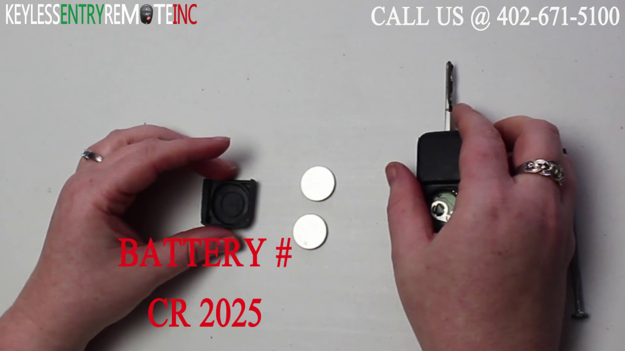 How To Replace Mercedes Benz S320 Key Fob Battery 1998 1999 - YouTube
