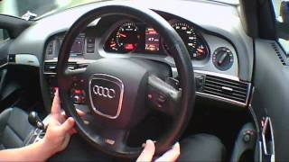 Audi A6 3.0 2007 Review/Road Test/Test Drive