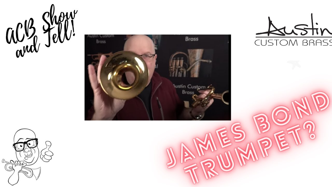 James Bond horn? Check out this  cool Yamaha Bobby Shew 8310Z  briefcase trumpet from my collection