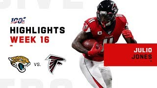 Julio Jones Goes OFF w/ 166 Yds