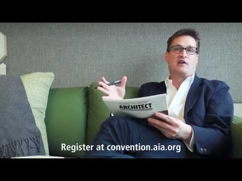 A Personal Invitation to the AIA Convention 2014 from Ned Cramer