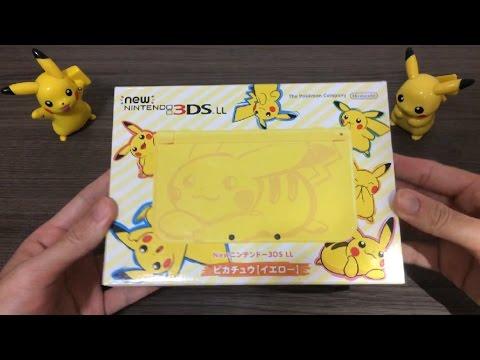 皮卡丘 3DS LL組合 寶可夢 神奇寶貝 amazon限定 日規 Wii U NFC 3DS LUCI日本代購