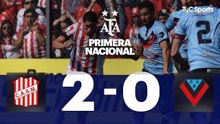 San Martín (T) 2 VS. Brown (A) 0 | Fecha 6 | Primera Nacional 2019/2020