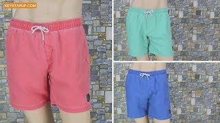 Washing Polyester Peach Skin Swim Trunks Board Shorts  Wholesale BST0271