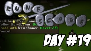 Runescape 2007 Project Ranged Tank - Questing For Barrows Gloves! (Day #19)