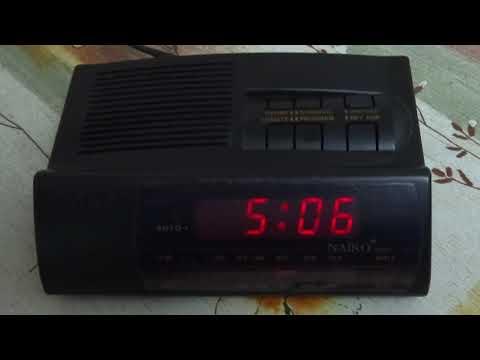 Radio clock Naiko 7886E (Japan)