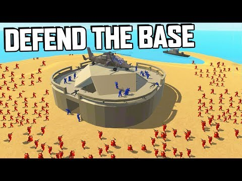 DEFEND the FORT!  EPIC Defense Against Overwhelming Odds (Ravenfield Gameplay)