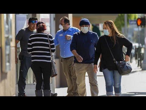 Covid-19: nouveau record de décès aux Etats-Unis, le port du masque recommandé