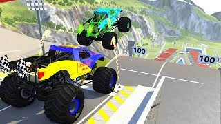 High Speed Jumps&Crashes #21 - BeamNG.Drive