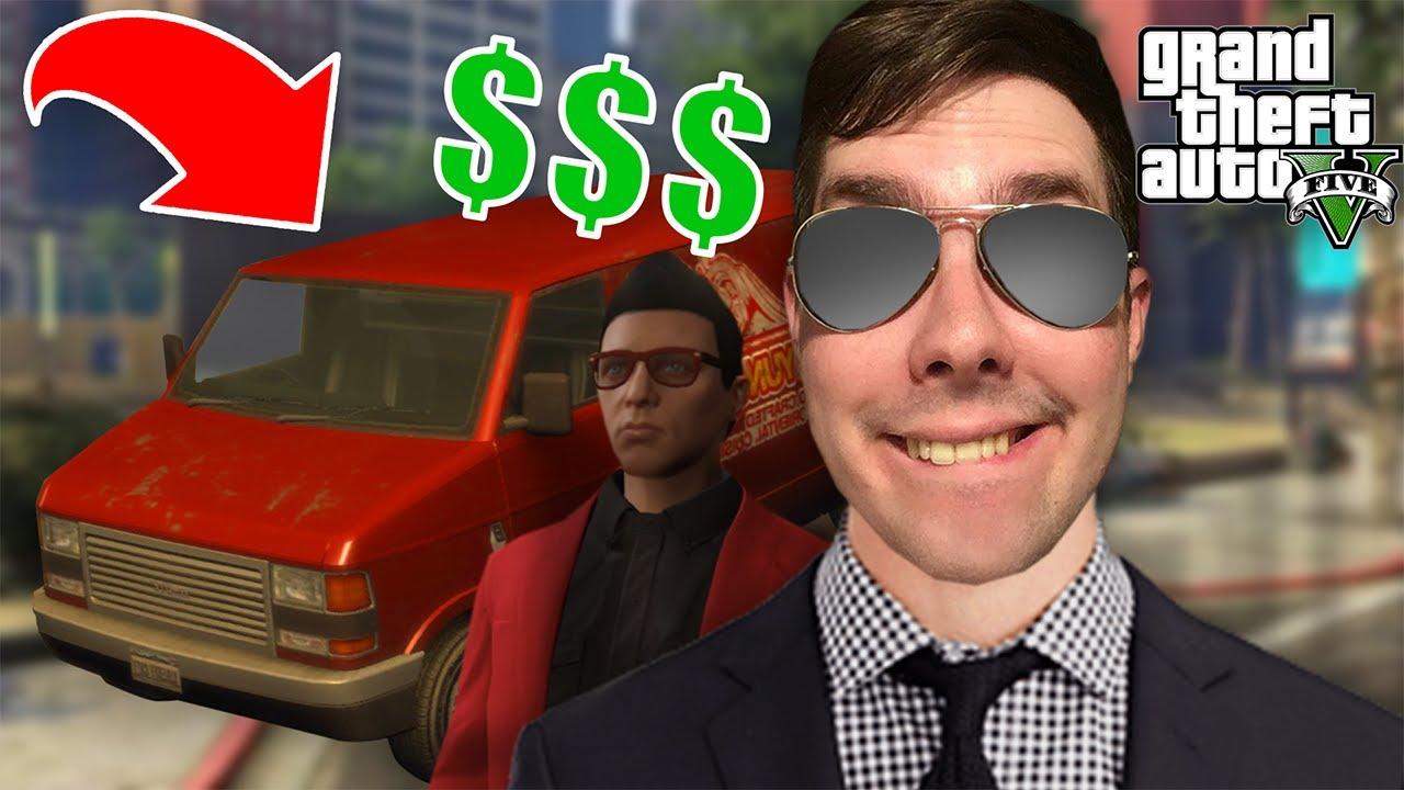 Ένα ΑΜΑΞΙ γεμάτο ΛΕΦΤΑ! | GTA Online