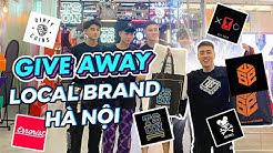 GIVEAWAY Áo tại 6 Local Brands cực hot , Hà Nội thì mua áo ở đâu ? Vlog 210