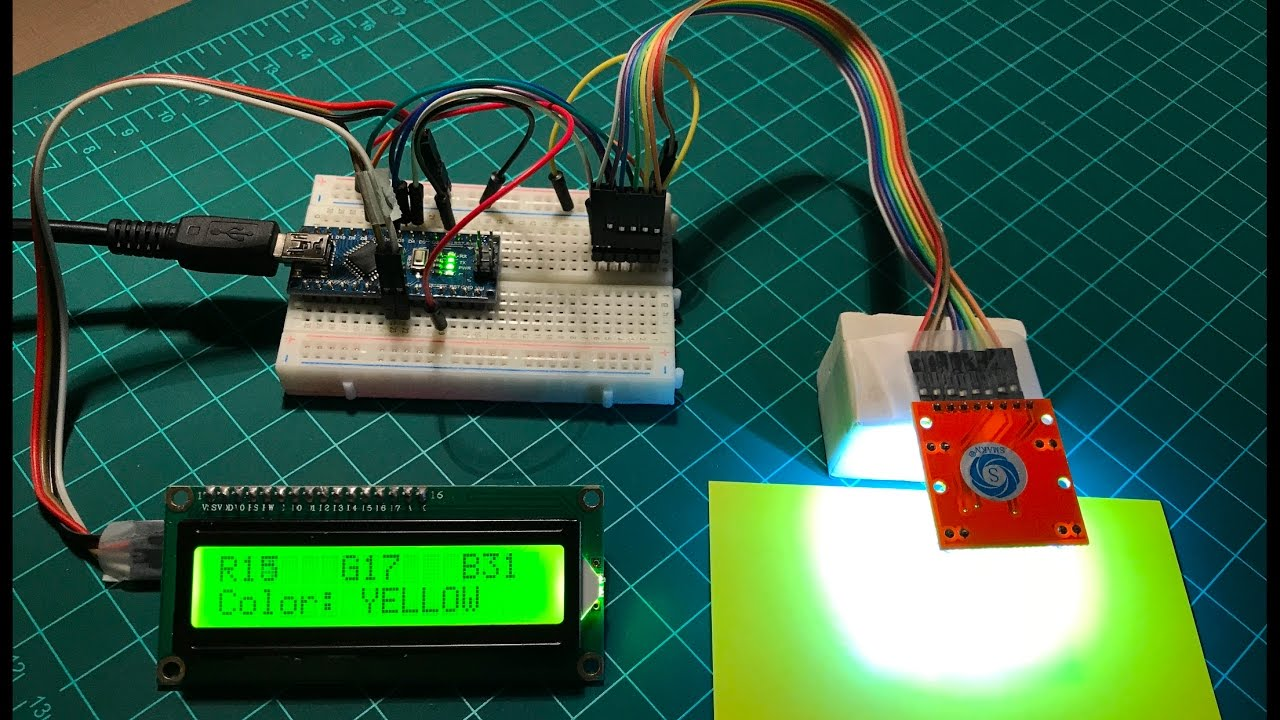 Arduino color detection youtube