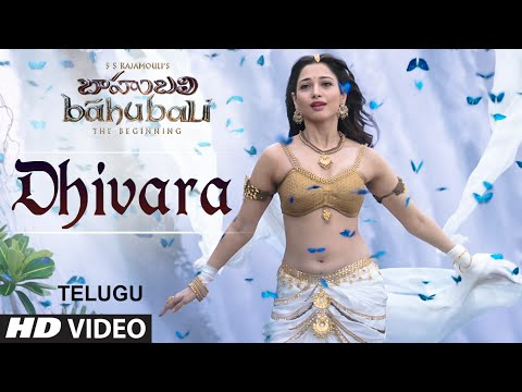 Baahubali Songs | Dhivara Video Song | Prabhas, Anushka Shetty,Rana,Tamannaah | M M Keeravani