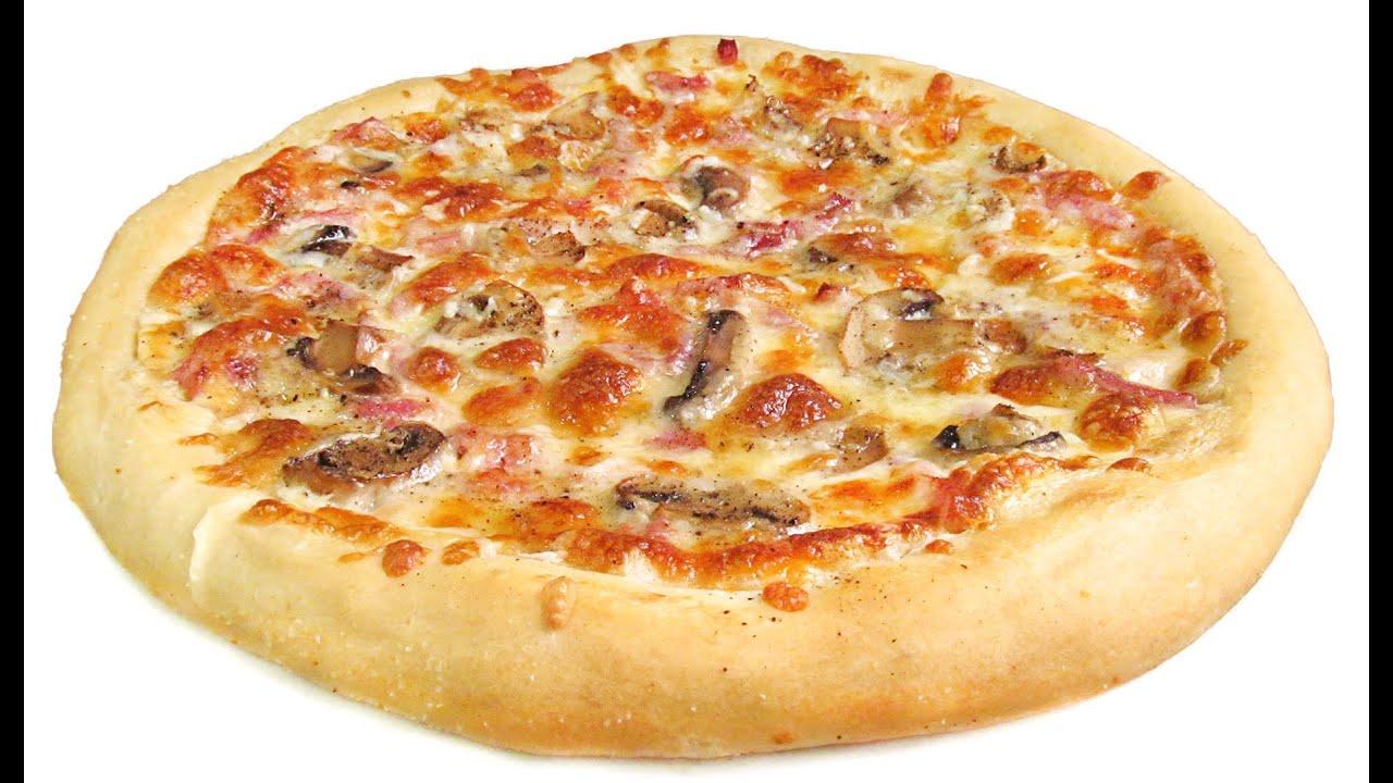 Pizza Carbonara Estilo Telepizza Youtube