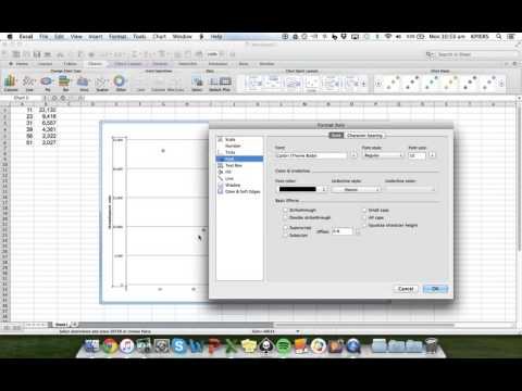 how to draw x y graph in excel 2010