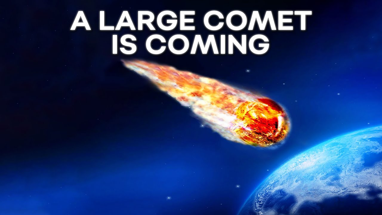 A Large Comet Is Announced Coming From The True Edge Of The Solar System: The Oort Cloud!
