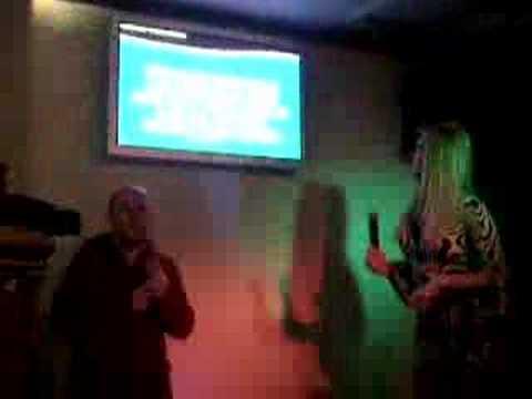 Destiny Dyson and ruby on karaoke