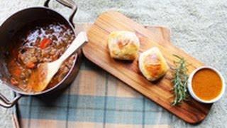 Lamb Parcels & Lamb, Rosemary Pizza Recipe