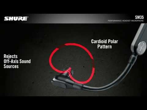 Shure SM35 Performance Headset Microphone Product Video
