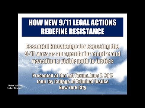 How New 9/11 Legal Actions Redefine Resistance