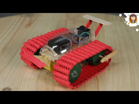 Thumbnail: How to Make a Car / Tank - Very Easy