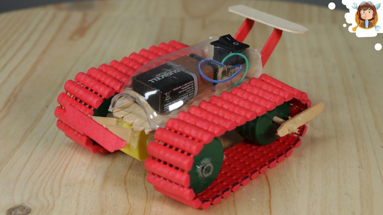 Make A Car >> How To Make A Car Tank Very Easy