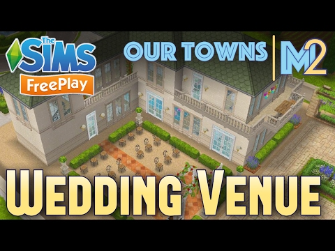 Sims FreePlay - French Chateau Wedding Venue (Original Design)
