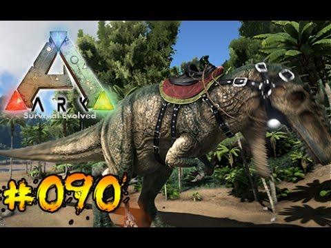ARK #090 Giganotosaurus reiten [Deutsch/HD]
