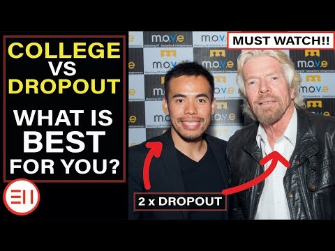 School College vs Dropout | What is The Best Decision For You? [Why Kids Shouldn't Go! REAL TALK!]