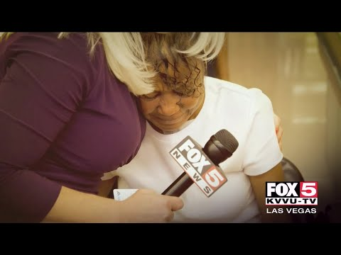 FOX5 Surprise Squad: Double Amputee & A Widowed Wife Share Their Stories Of Strength!