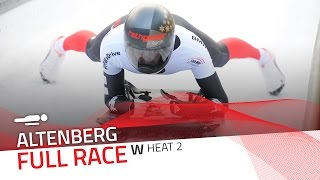Altenberg | BMW IBSF World Cup 2016/2017 - Women's Skeleton Heat 2 | IBSF Official