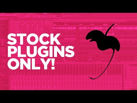 STOCK PLUGINS ONLY CHALLENGE! Making A Beat In FL Studio Tutorial by Nick Mira