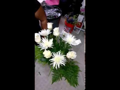 Clase de floristeria #17. Aprende el arte de arreglar flores. gana dinero.