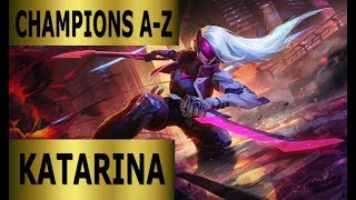 Champions A-Z Katarina Mid Lane Guide | Full Gameplay [German] League of Legends by DPoR LP