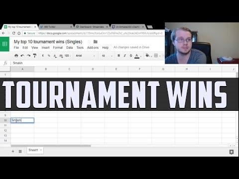 Armada's Top 10 Tournament Wins (Singles) - 10-6